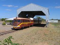 RM93 at Croydon station in outback Queensland, 29SEP07