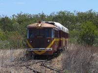 RM93 turning on the wye at Croydon, Queensland, 29SEP07