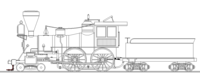 the wood burning 4-4-0
