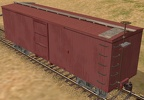 36' wood-truss boxcar work-in-progress